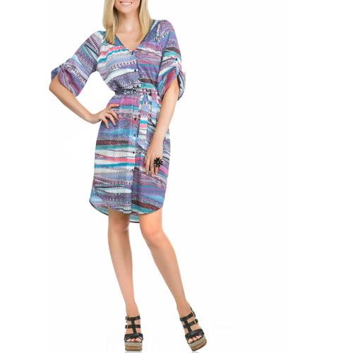 Miss Tina Smocked Peasant Dress