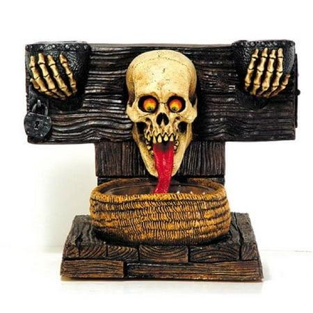 Door Greeter Ghoul In Stocks - Halloween Greeter