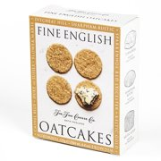 Oatcake Rounds by Fine English Crackers for Cheese (4.4 ounce)