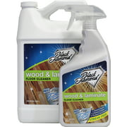 WOOD AND LAMINATE FLOOR CLEANER: For Hardwood, Real, Natural & Engineered Flooring ?Biodegradable Safe for Cleaning All Floors. Black Diamond Stoneworks (1-Quart/1-Gal)