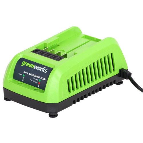 Greenworks 29702 Enhanced 24V Lithium-Ion Charger