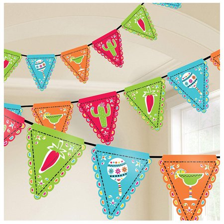 Picado De Papel Fiesta Cinco De Mayo Decorations & Supplies