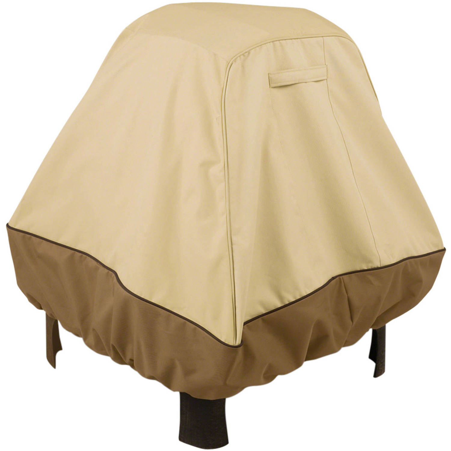 "Classic Accessories Veranda Stand-Up Fire Pit Cover, fits up to 35.5""L x 35.5""W"