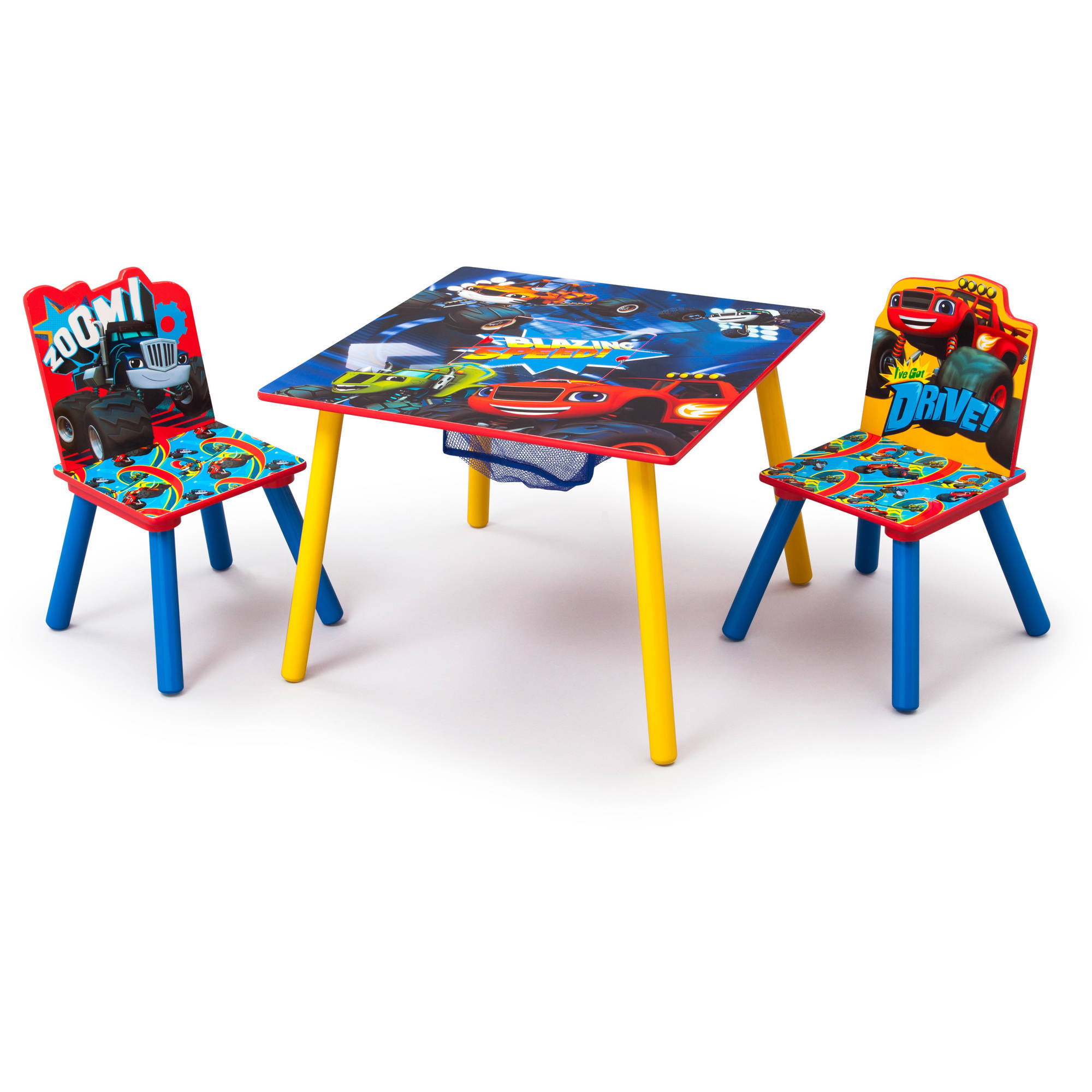 Blaze and the Monster Machines Table & Chair Set with Storage by Delta Children