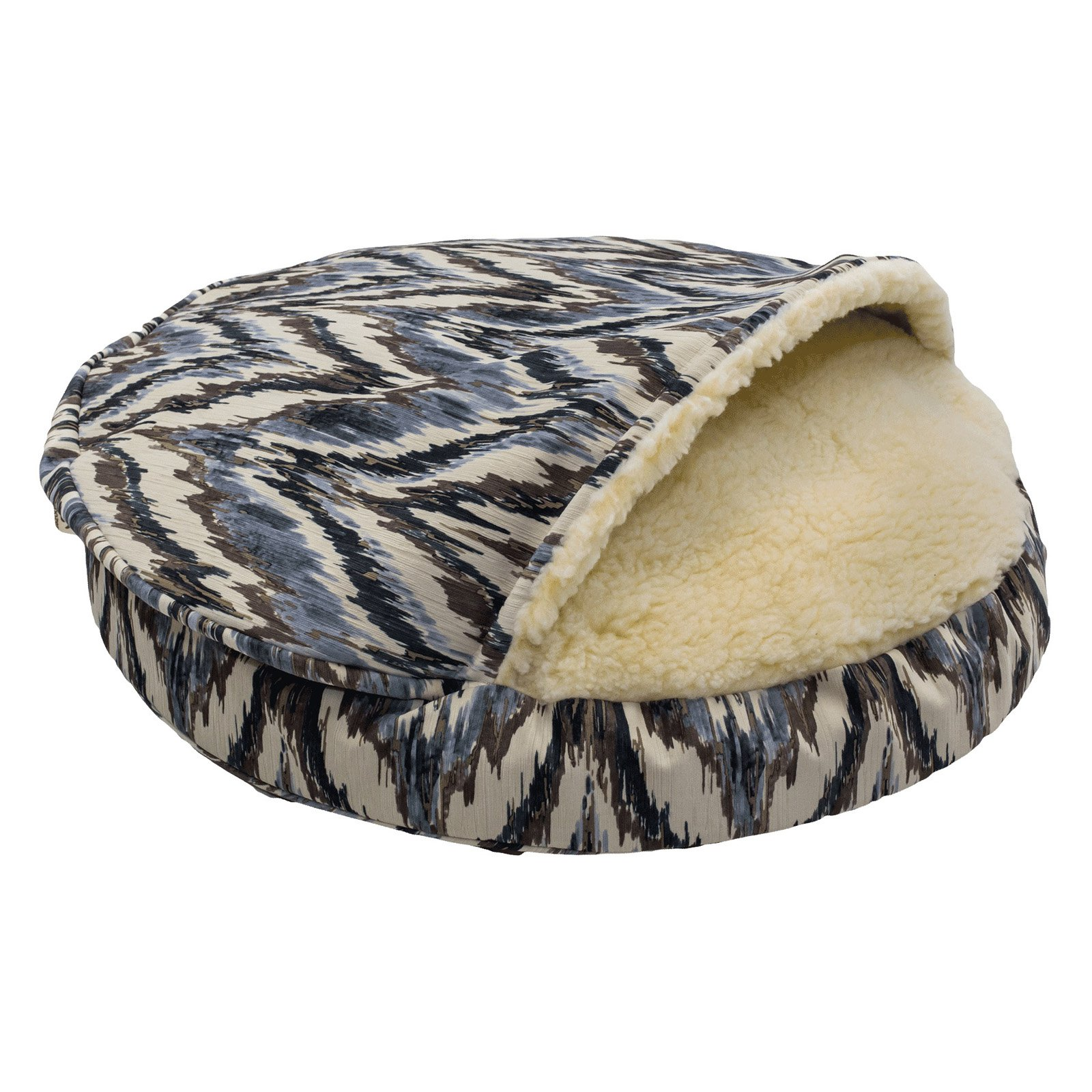 Snoozer Show Dog Microsuede Cozy Cave Pet Bed