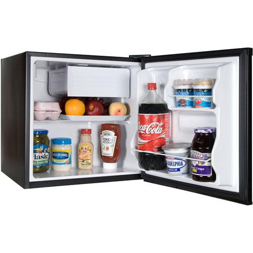 Haier 1 7 Cu Ft Refrigerator Freezer Walmart Com