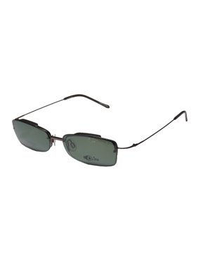 8f5e83f348 Product Image New Elite Fashionable Clipon Eyewear Evolite 102 Mens Womens  Designer Half-Rim Pewter Frame