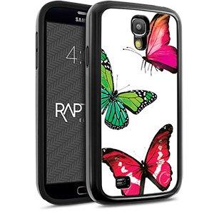 Cellairis Rapture Case for Samsung Galaxy S4 - Rapt Bk Flutter Forever - image 1 of 1