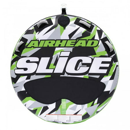 Airhead Slice Inflatable Double Rider Towable Lake Tube Water Raft | (Airhead Super Slice)