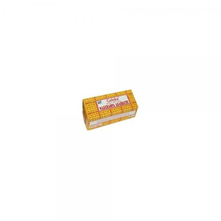 goloka (gold) nag champa incense - 250 gram box