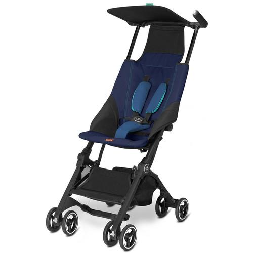 gb Pockit Lightweight Stroller, Sea Port Blue by GB