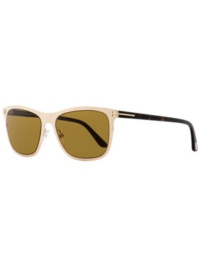 b9d20680e9 Product Image Tom Ford Aviator Sunglasses TF526 Alasdhair 28E Shiny  Gold Havana 55mm FT0526