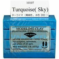 VAN AKEN INTERNATIONAL 10107 PLASTALINA MODELING CLAY TURQUOISE 1LB