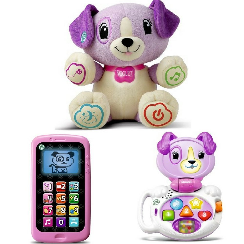 LeapFrog My Pal Violet, My Talking LapPup & Chat & Count Smart Phone, Best Toy by