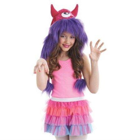 Diy Monster Costume Ideas (Morris Costumes Kit Hood Monster Pink/Purple One)