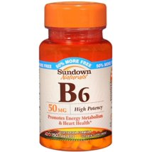 Vitamins & Supplements: Sundown Naturals B6