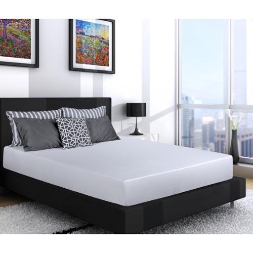Select Luxury SL Loft Medium Firm 10-inch Full Size Gel Memory Foam Mattress and Foundation Set