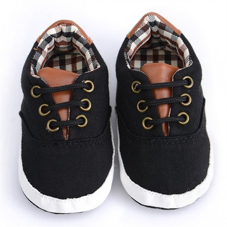 Newborn Baby Boys Girls Soft Sole Crib Shoes Cute Boots Anti-slip Sneakers 0-18M - image 5 of 5