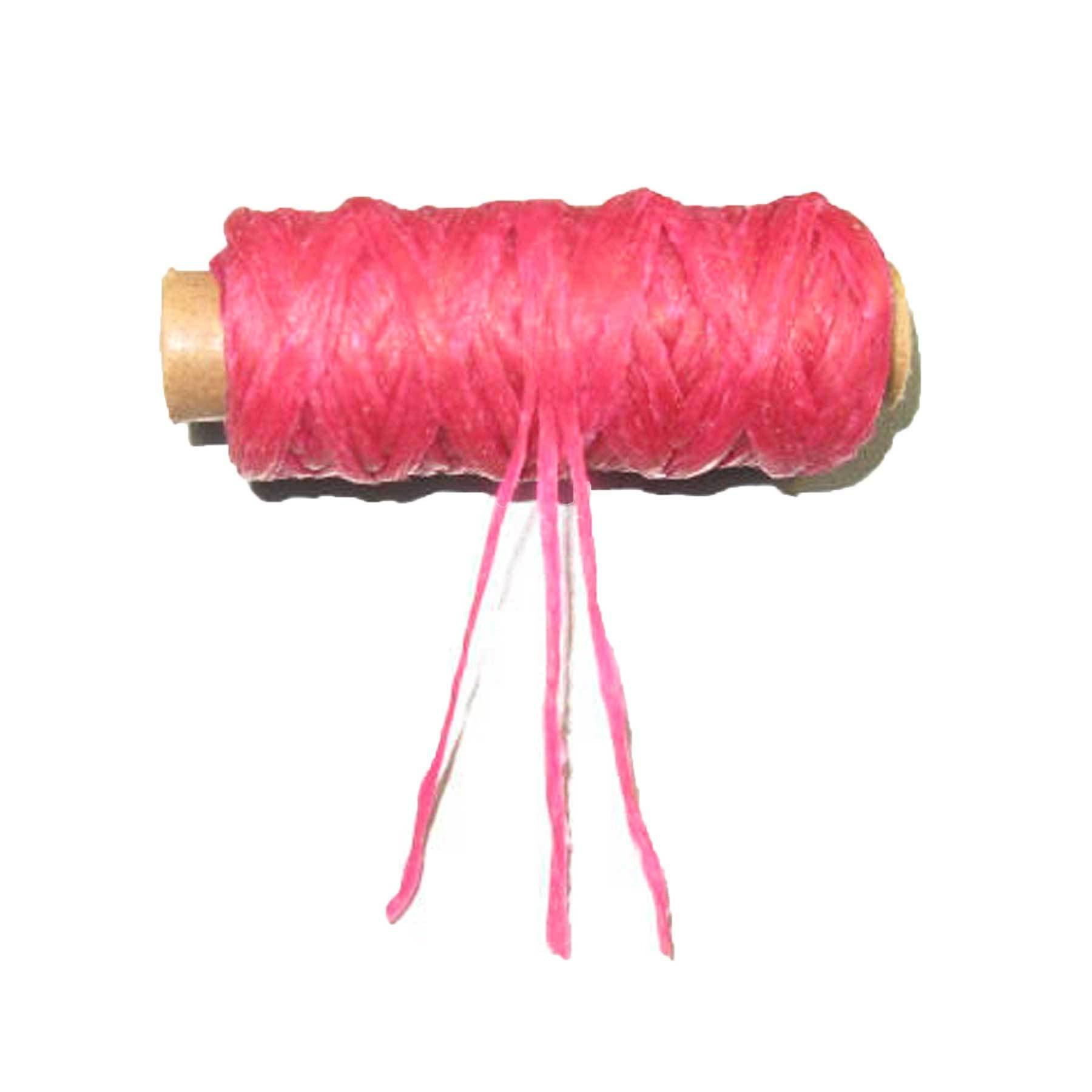 Artificial Sinew Pink 3609 20yd Thread Beadwork Dream Catchers Leathercraft