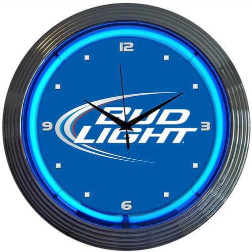 Neonetics 15'' Bud Light Wall Clock