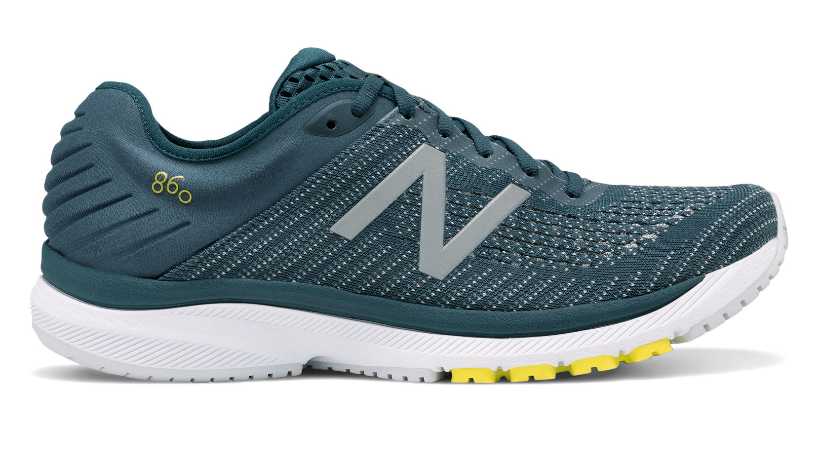 New Balance - New Balance Men's 860 V10 Running Shoe, Orion Blue/Yellow, 12.5 2E(W) US - Walmart.com