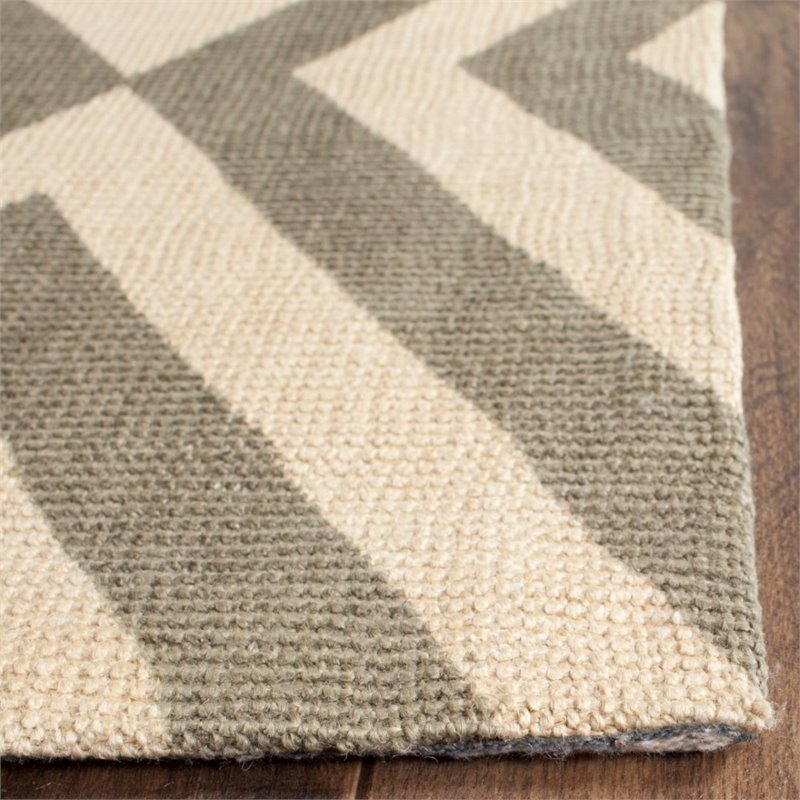 Safavieh Cedar Brook 5' X 8' Handmade Jute Pile Rug in Ivory and Gray - image 3 of 8