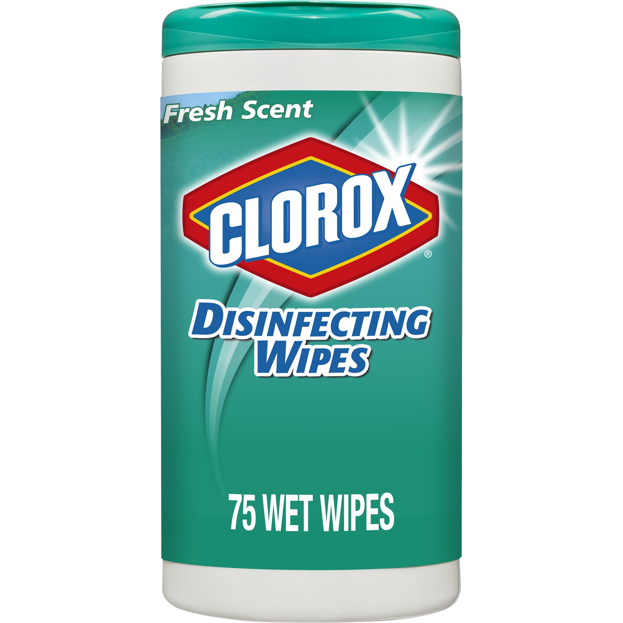 Clorox Disinfecting Wipes, Bleach Free Cleaning Wipes - Fresh Scent, 75 ct