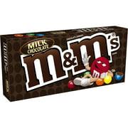 M&M'S Milk Chocolate Candy Movie Theater Box, 3.1 oz