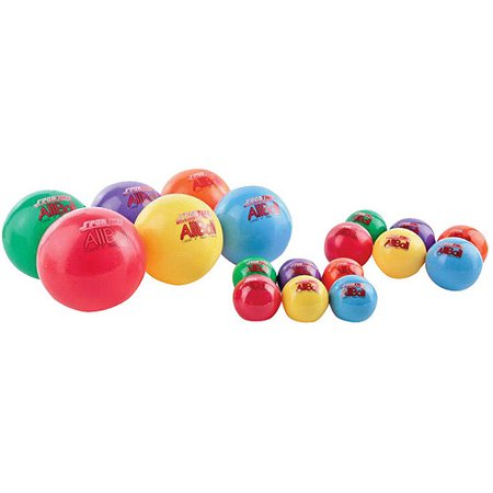 Sportime Multi-Purpose Inflatable All-Balls, Set of 6 for $<!---->