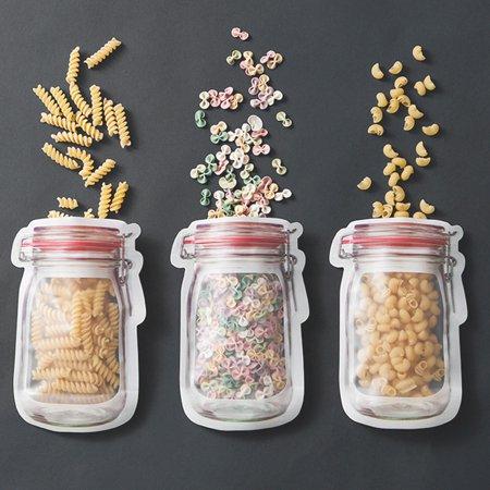 Country Fresh Food Fudge (3Pcs Zipper Preservation Fridge Freezing Food Storage Bag Fresh Keeping Wrap)
