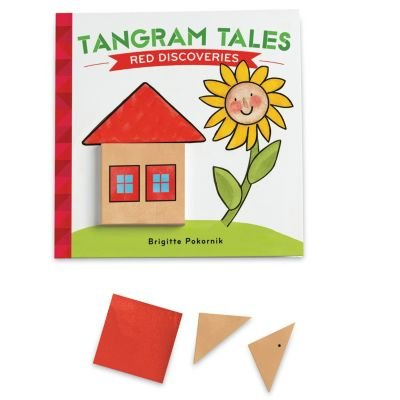 Tangram Tales: Red Discoveries, BOOKS THAT TEACH: Tangram Tales: Red Discoveries from MindWare is a friendly story puzzle for young children that's.., By MindWare