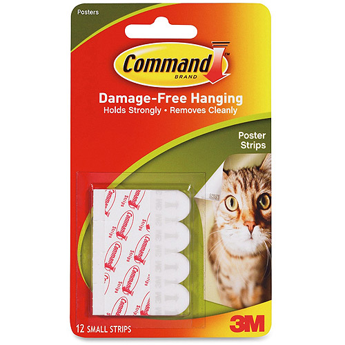 3M Removable Command Adhesive Poster Straightips