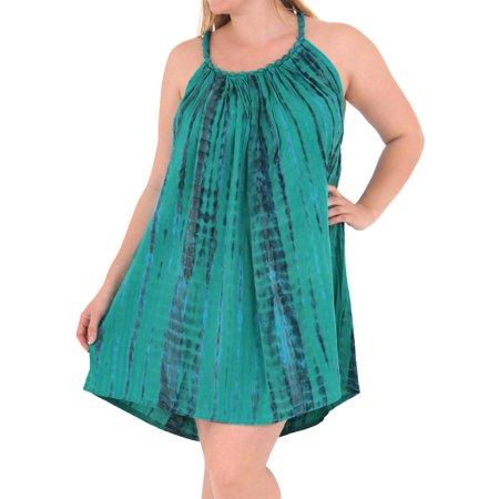 2a43d1ec55 LA LEELA - Women's Designer Sundress Beachwear Evening Plus Size ...
