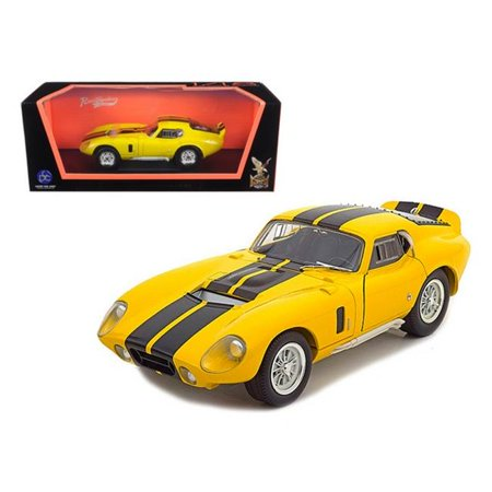 1965 Shelby Cobra Daytona Coupe Yellow 1-18 Diecast Model