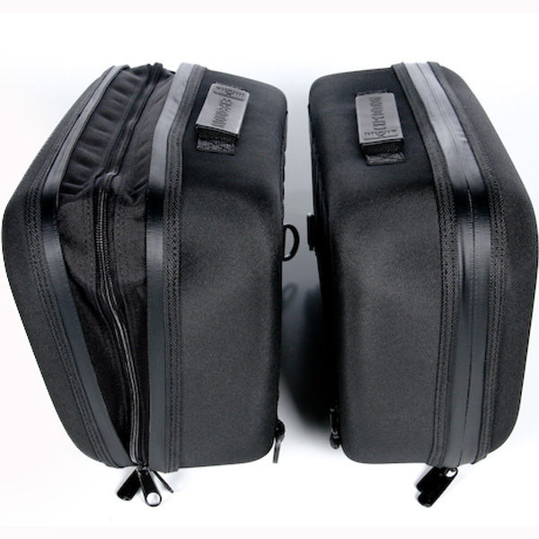 Moose Racing Expedition Saddlebags Black
