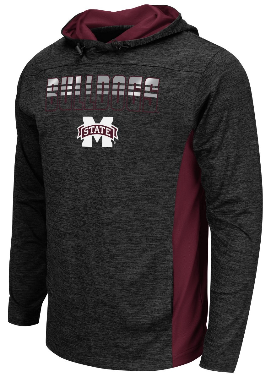 "Mississippi State Bulldogs NCAA ""Sleet"" Pullover Men's Hooded Jacket by Colosseum"