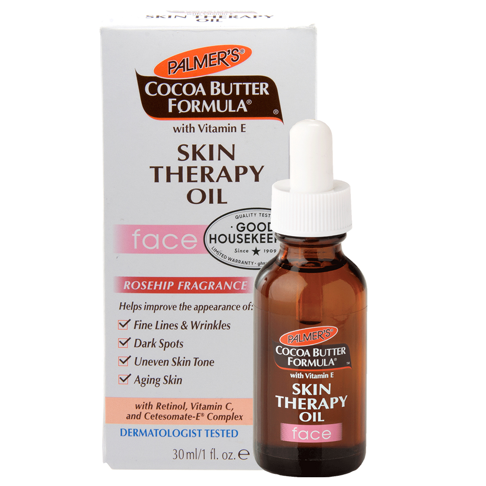 Palmer's Cocoa Butter with Vitamin E Skin Therapy Oil for Face, 1 Ounce