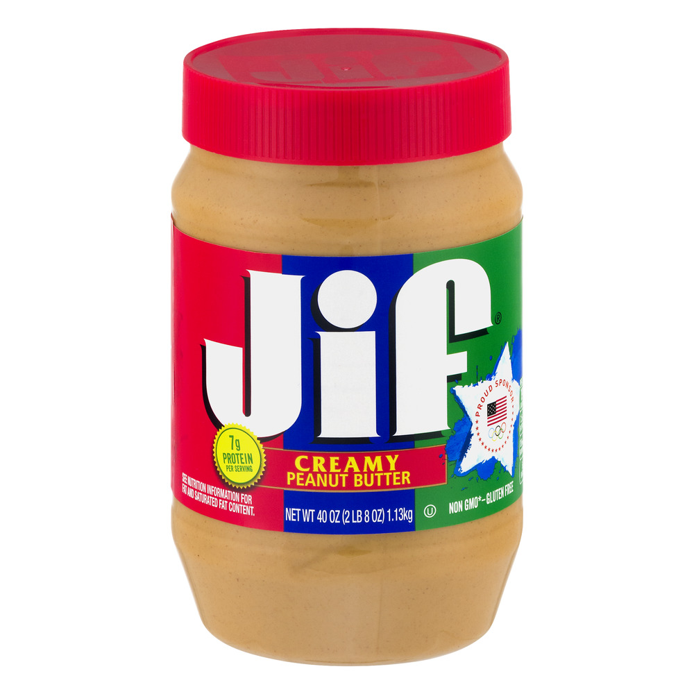 Jif Creamy Peanut Butter, 40 oz by The J.M. Smucker Company