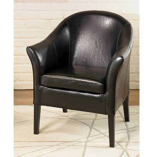 Leather Club Chair, Multiple Colors
