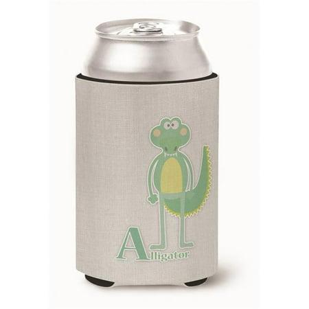 Carolines Treasures BB5726CC Alphabet A for Alligator Can or Bottle Hugger - image 1 of 1