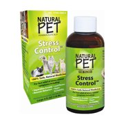 Natural Pet Homeopathic Stress Control Relief For Felines - 4 Oz