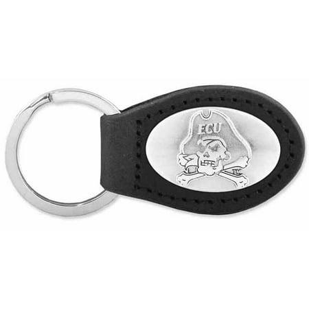 East Carolina Leather Key Fob (Black)