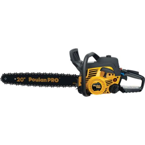 Factory-Reconditioned Poulan Pro 967000801 50cc Gas 20 in. Chain Saw (Class A)