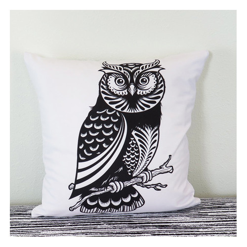 Arthouse Innovations Decorative Owl Throw Pillow