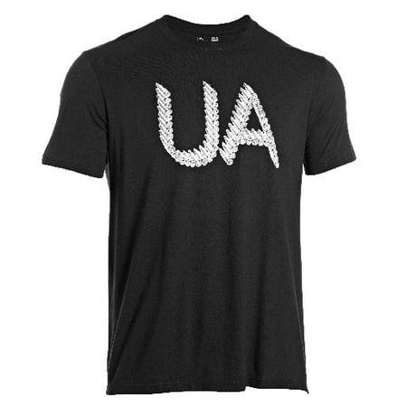 1236654 Men's Black Tactical Belt Fed S/S T-Shirt -Size Medium