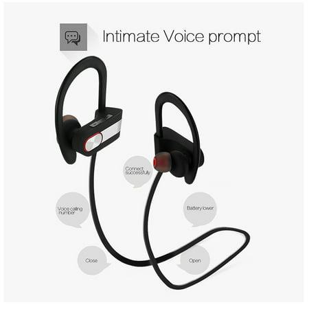 4be88dfb203 AGPtek Waterproof Bluetooth Earbuds Beats Sports Wireless Headphones Stay  in Ear Design Bluetooth 4.1 - image ...