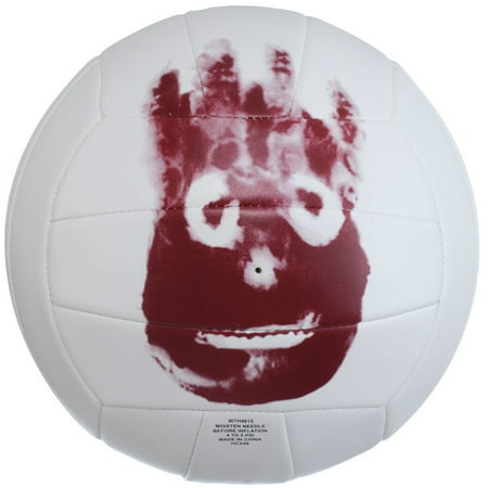 Wilson Volleyball Halloween (Wilson Official Size and Weight Cast Away Replica Outdoor)