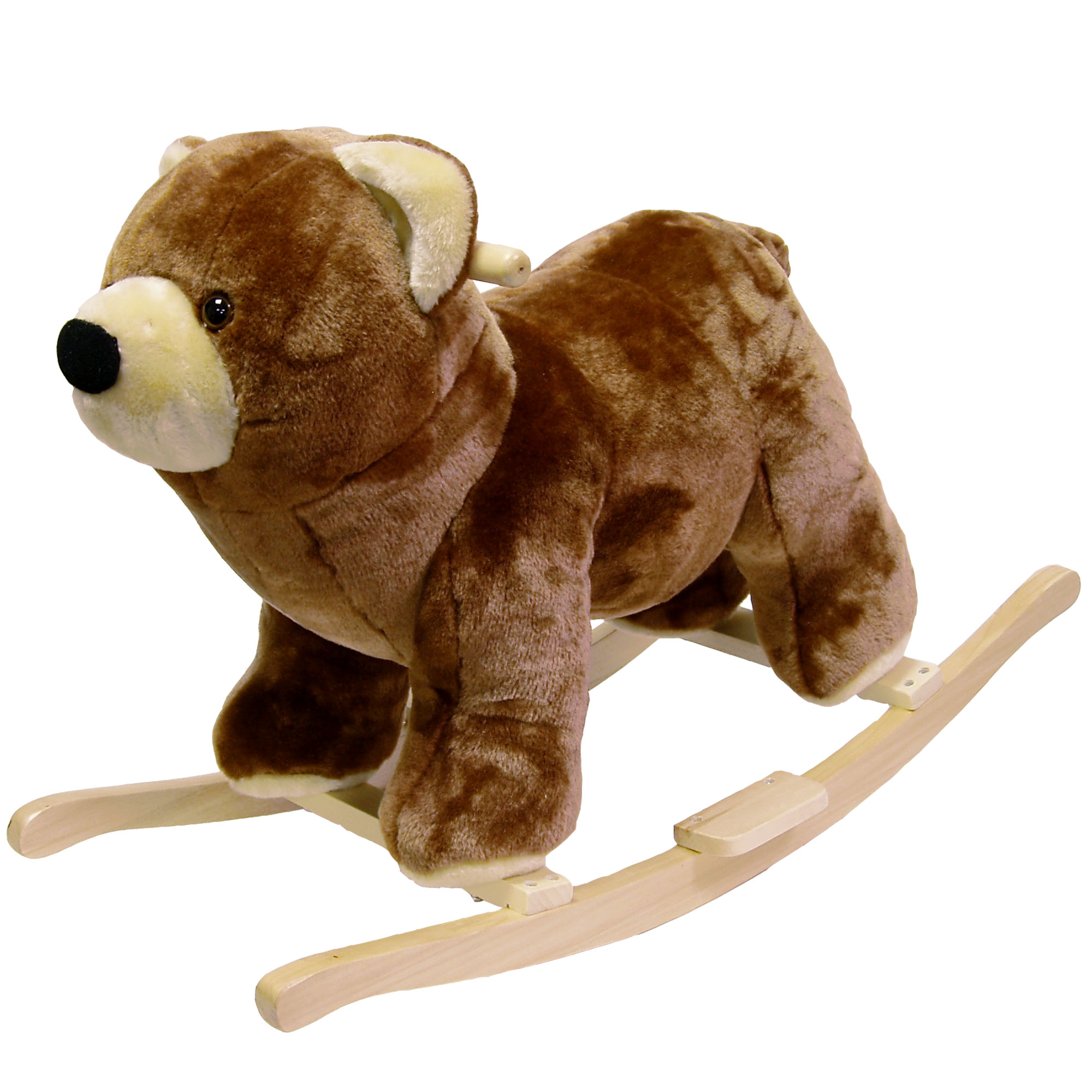 Bear Plush Rocking Animal Toy Ride On by Happy Trails