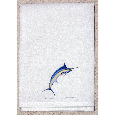 Blue Marlin Guest Towel