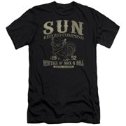 Sun Records Rockabilly Bird Mens Slim Fit Shirt